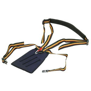 Harness with comfort cushion