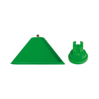 Bell attachment for localized weed control