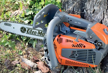 New GST 360 professional chainsaw