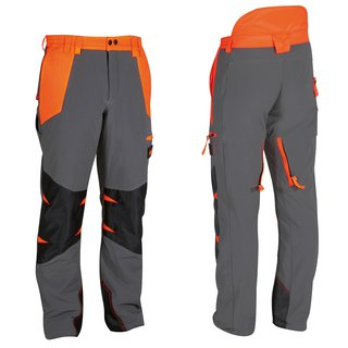 Air-light professional chain-resistant trousers