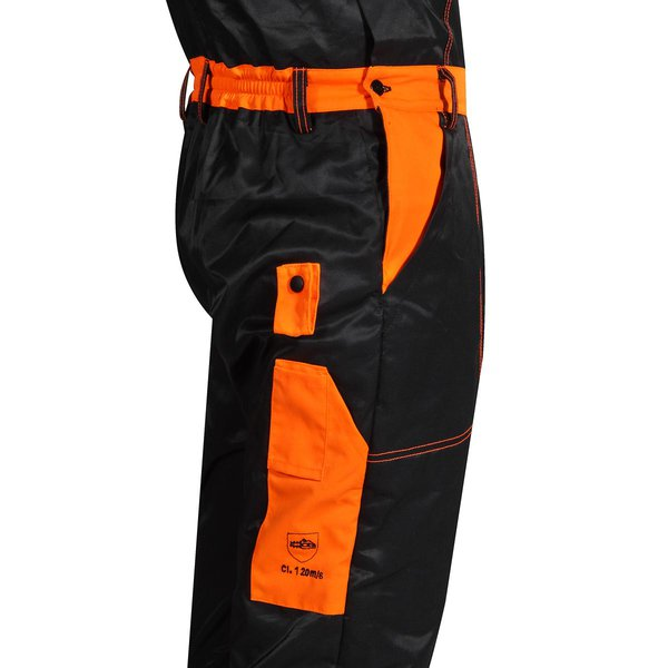 Energy dungarees with anti-cut protection