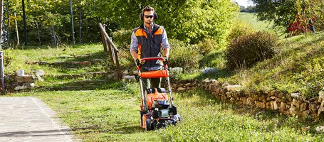 The revamped design of Oleo-Mac lawnmowers