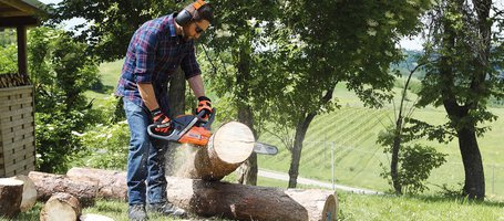 New GSH 51/GSH 510 and GSH 56/GSH 560 chainsaws