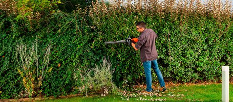 Your garden is even greener with battery-powered tools