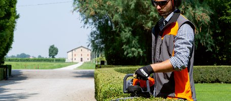 New Oleo-Mac professional engine petrol hedgetrimmers