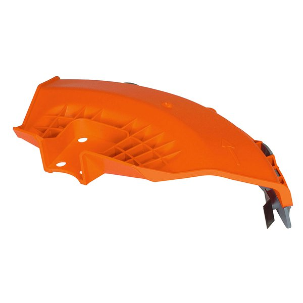 Plastic guard for medium power and backpack brushcutters